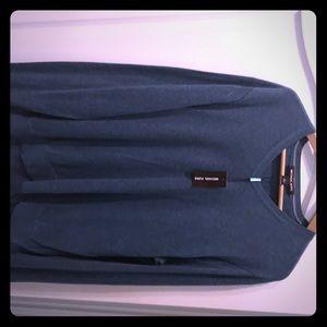Michael Kors Hydro Teal cotton Sweater